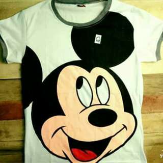 Character shirt freesize (2 for 300php)