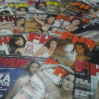 FHM Back Issues 21 + 7