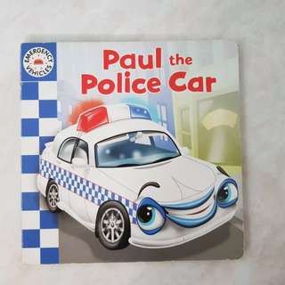 Paul the Police Car Board Book