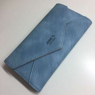 Jane's Leather wallet 長銀包