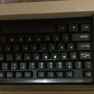 Wireless keyboard and mouse. Waterproof