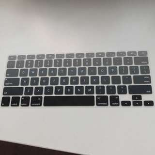 grey ombre macbook pro 13 inch keyboard cover