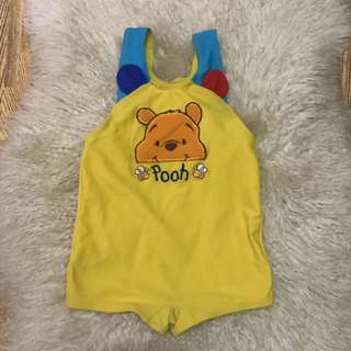 Authentic pooh  fits to 2-4 years old/contact#09956396640