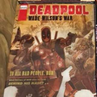 Deadpool: Wade Wilson's War DLX HC