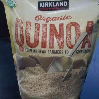 Kirkland organic quinoa rice
