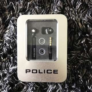 POLICE brand ear phones