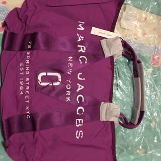 Marc Jacobs 全新紫色大袋