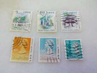 Hong Kong China Stamps Used #2