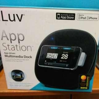 i Luv app station