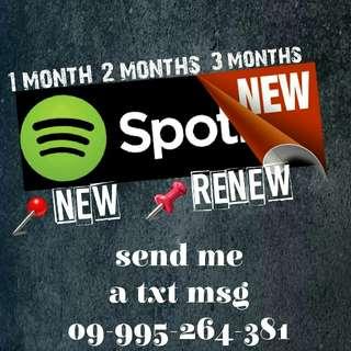 Spotify/netflix