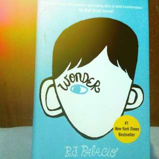 Wonder by RJ Palacio (Hardcover)