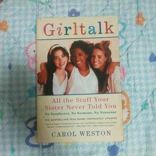 Girltalk by Carol Weston #Huat50Sale