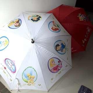Umbrella collectible Disney Princess, Doraemon