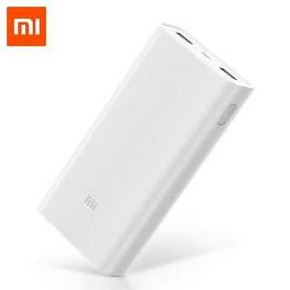 Original Xiaomi Powerbank V2 20000 mah