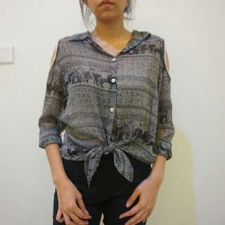 Trendy Shirt with Cool Design