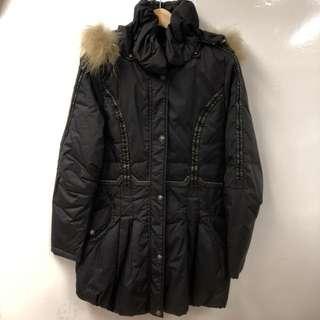 Kenzo black down jacket size 42
