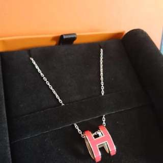 Hermes pop h necklace