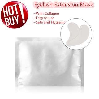 ★10 Pairs Eye Mask/Collagen eye mask /Lint Free Eye Pads Patch Mask Brightening Eyelash Extension