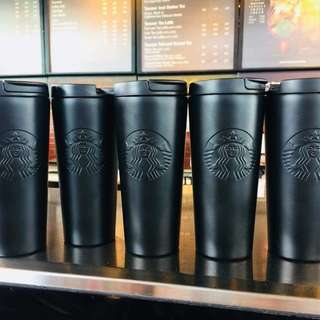 Starbucks Black Matte Siren Limited Edition Tumbler