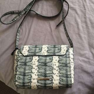 Basque snake skin bag