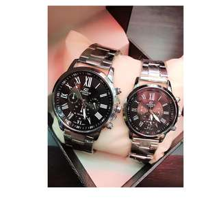 Edifice Casio Couple Watch with Box