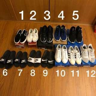 各式球鞋 拖鞋