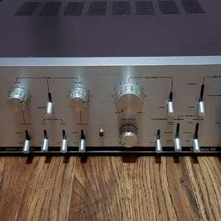 Vintage MONACH 8000 solid state amp