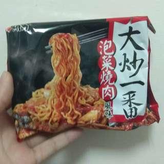 🚚 大炒一番 泡麵 (泡菜燒肉/鐵板牛肉)