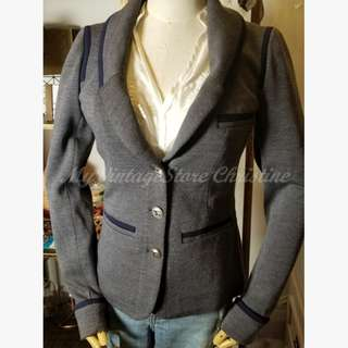 (20% Off) Chanel Fitted Wool Blazer