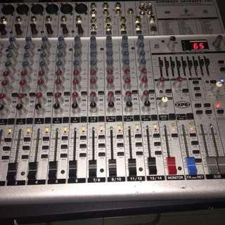 eurorack mixer 1832fx