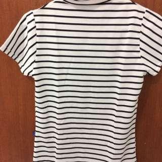 Baju garis- garis (stripped tee)