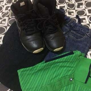 Old navy pants 2, Nike shoes orginal TAKE ALL