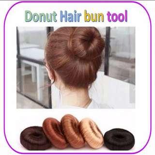 Hair Bun Donut Ring Synthetic Hair Fixer