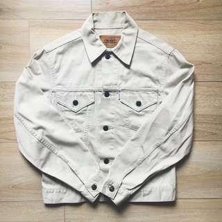Levis Trucker Jacket W7505 Size Medium Made in Japan Vintage