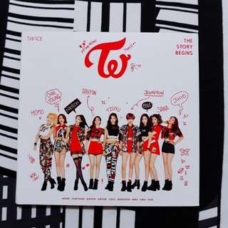 TWICE The Story Begins Album (Thai Edition)