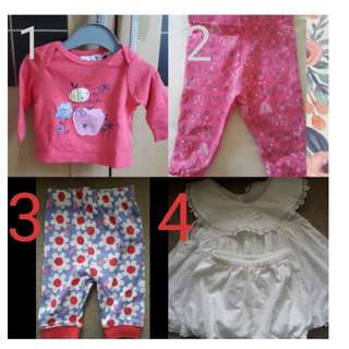 Mothercare New Clothes ex kado