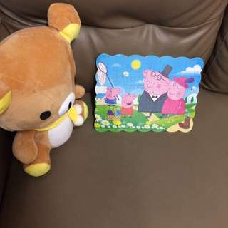 Peppa Pig puzzle - free postage