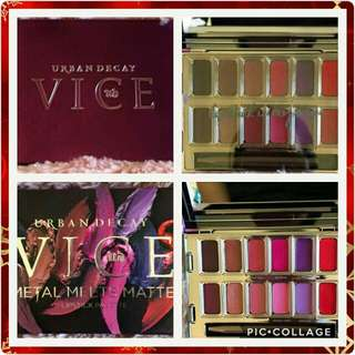 [SUPER SALE] URBAN DECAY VICE METAL MEETS MATTE VICE LIPSTICK PALETTE