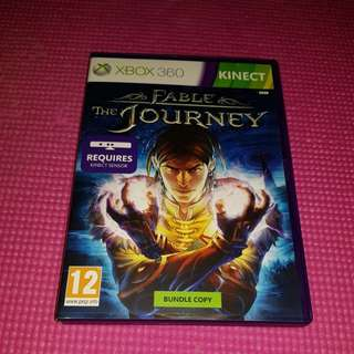 Xbox 360 kinect Game  fable the journey