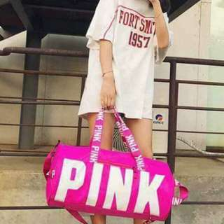PINK traveling bag 18inches