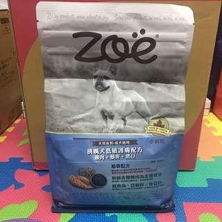 Zoe挑嘴犬低敏護膚配方-雞肉+藜麥+黑豆 2KG