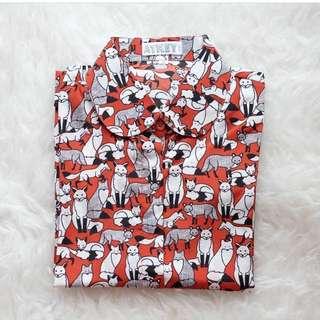 foxes shirt