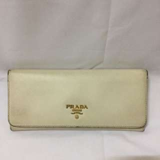 Authentic Prada Long Purse