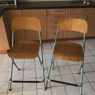 Chair Bar Stool (both for RM150)