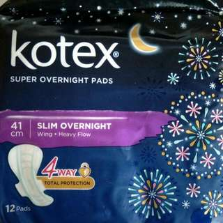 Kotex 41cm Overnight Pad