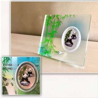 Singapore Mint Giant Panda Silver Proof Coin