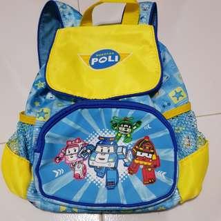 Robocar Poli Toddler Backpack