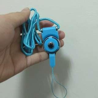 🚚 手機掛繩(藍)