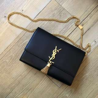 YSL gold chain bag