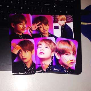 BTS Taehyung Photocards